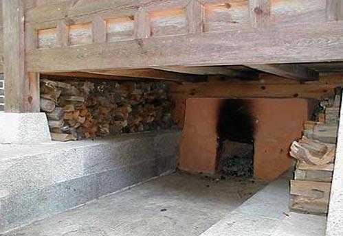 Печка для теплых полов