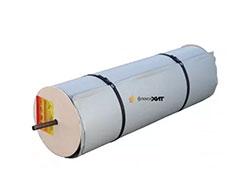 Рулонный термомат для ускоренного твердения бетона и прогрева грунта