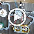 «Культурный» электромонтаж... Разводка проводки в жилой комнате