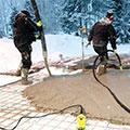 Зимний прогрев бетона термоматами и проводом ПНСВ 1,2 | Все об электрике